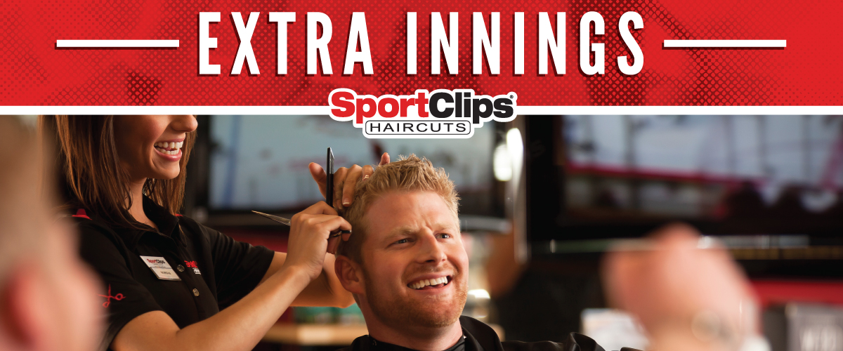 The Sport Clips Haircuts of Baxter/Brainerd  Extra Innings Offerings